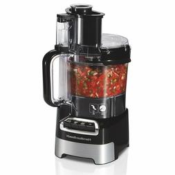 Hamilton Beach,10-Cup Stack & Snap Food Processor with Big M