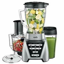 Oster Pro 1200 Blender with Glass Jar plus Smoothie Cup & Fo