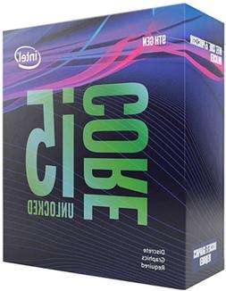 Intel Core i5-9600KF Desktop Processor 6 Cores up to 4.6 GHz