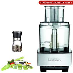 Cuisinart DFP-14BCNY 14-Cup Food Processor, Brushed Stainles