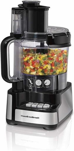 Electric Food Chopper 12 Cup Stack Snap Food Processor Veget