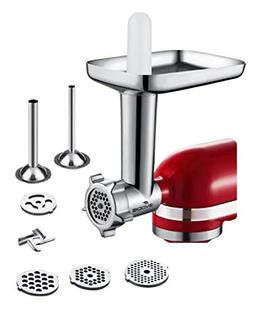 Food Meat Grinder Attachment Compatible with KitchenAid Stan