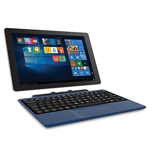 """RCA Cambio 10.1"""" 2 in 1 32GB Tablet with Windows 10, Intel A"""