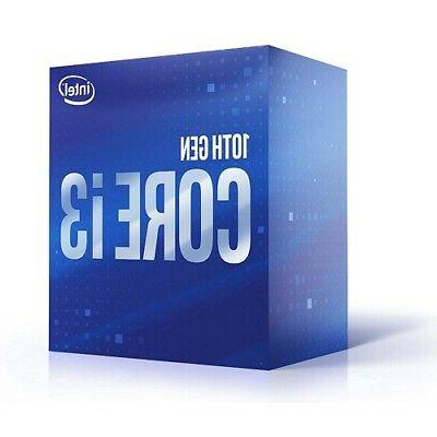 Intel Core i3-10100 Processor - 4 And 8 Up 4.30 T
