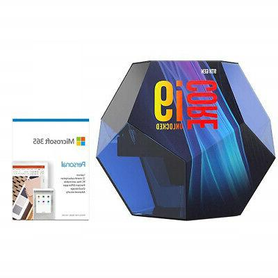 core i9 9900k desktop processor microsoft 365