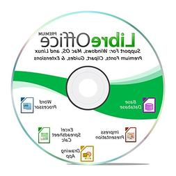 LibreOffice 2018 Software Office Suite DVD Word & Excel Comp