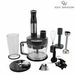 New Wolfgang Puck 7-in-1 Immersion Blender 12-Cup Food Proce