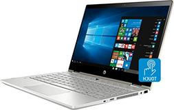 """HP Pavilion x360 2-in-1 14"""" FHD Touchscreen Laptop Computer,"""