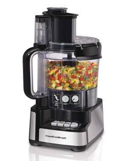 NEW Black+Decker FP2500 Wide-Mouth Power Pro 10Cup Food Proc